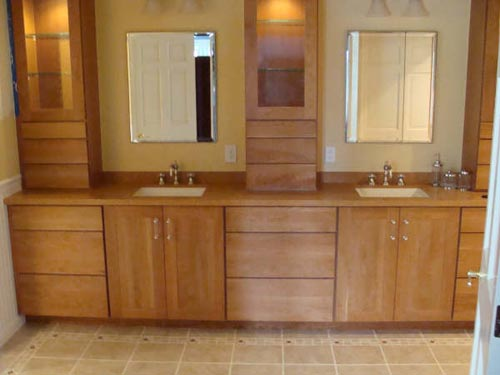 ... Cherry Hills Steam Bathroom Cabinets ...