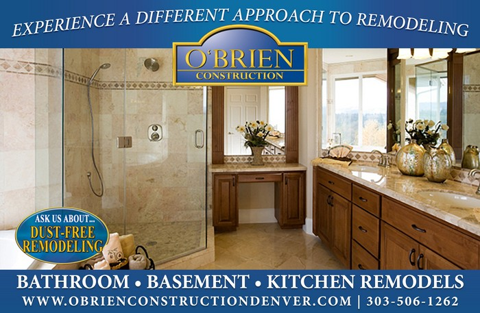 O'Brien Construction Denver Bathroom Remodeling Contractor Interesting Basement Remodeling Denver